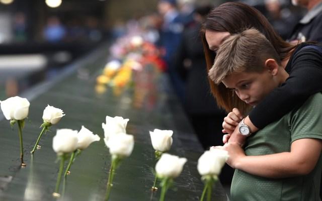 Disminuye por tercera vez número de muertes por terrorismo - Memorial del 11 de septiembre, día en que ocurrió el llamado peor acto del terrorismo contra EE.UU. Foto de AFP / Timothy A. Clary