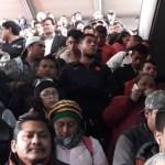 Lento avance en la Línea 7 del Metro por revisión de trenes - metro línea 7 lentitud de servicio