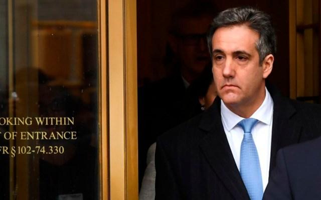 Michael Cohen aplaza audiencia ante el Congreso por amenazas de Trump - Foto de AFP