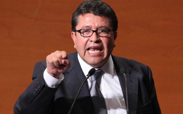 Senado impugnará suspensión de Ley de Remuneraciones - Monreal presenta iniciativa de desafuero presidencial
