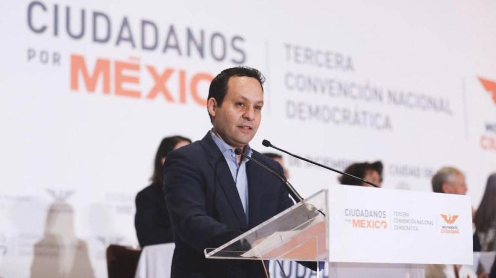 Clemente Castañeda nuevo dirigente de Movimiento Ciudadano - Castañeda