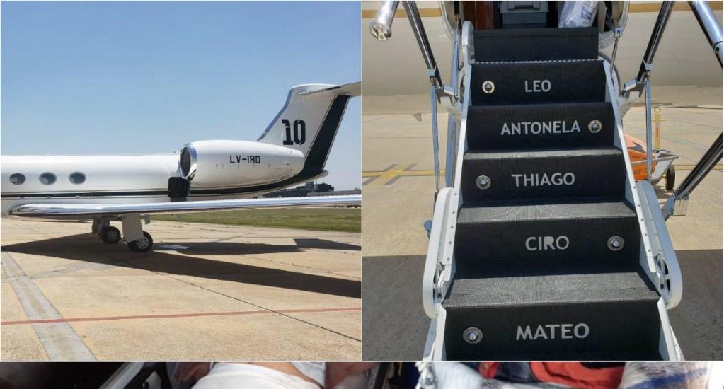 Messi compra avión privado de 15 mdd - Foto de Internet