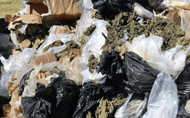 Incineran más de 700 kilos de narcóticos en el Estado de México - Foto de PGR México