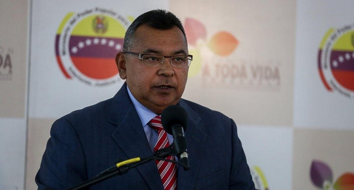 Nestor Reverol, ministro de Relaciones Interiores. Foto de @FUNVISIS