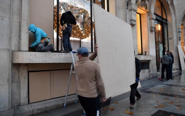 Alerta roja en Francia ante nuevas protestas de los 'chalecos amarillos' - Foto de AFP