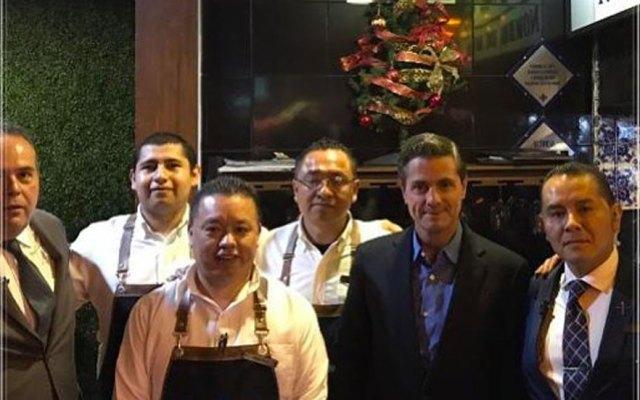 Reaparece en público el expresidente Enrique Peña Nieto - Reaparece en público el expresidente Peña Nieto