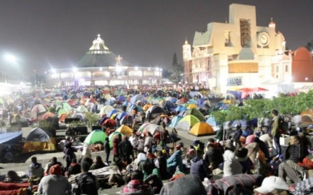 Llegan más de 10 millones de peregrinos a la Basílica de Guadalupe - Foto de Notimex
