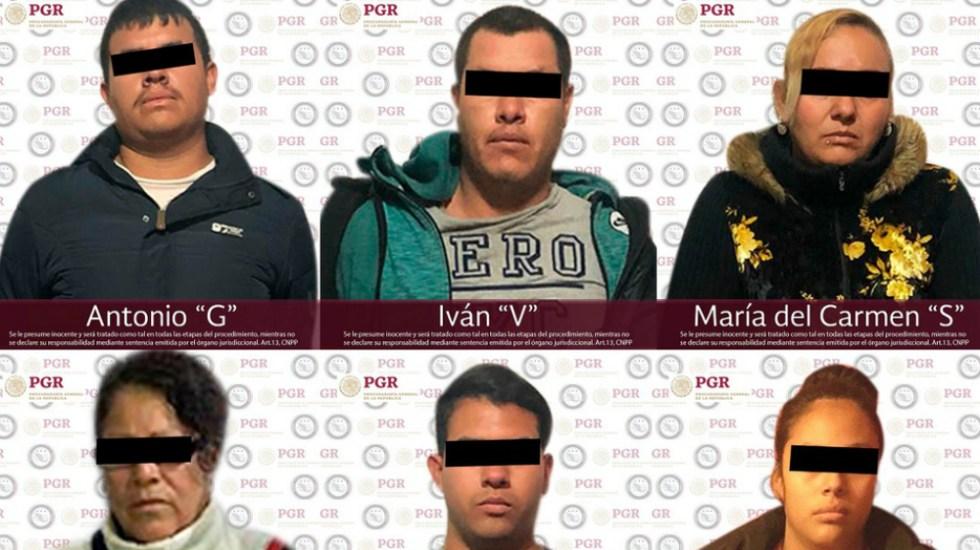 Detenidos seis presuntos integrantes del Cártel del Golfo en Zacatecas - Fotos de PGR