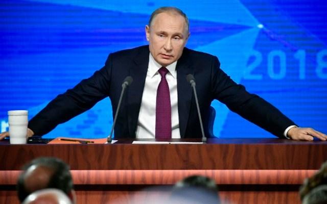 Occidente quiere frenar desarrollo de Rusia: Putin - Foto de Alexander NEMENOV / AFP