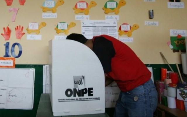 Perú vota reformas constitucionales contra la corrupción - perú vota reformas constitucionales en referendum