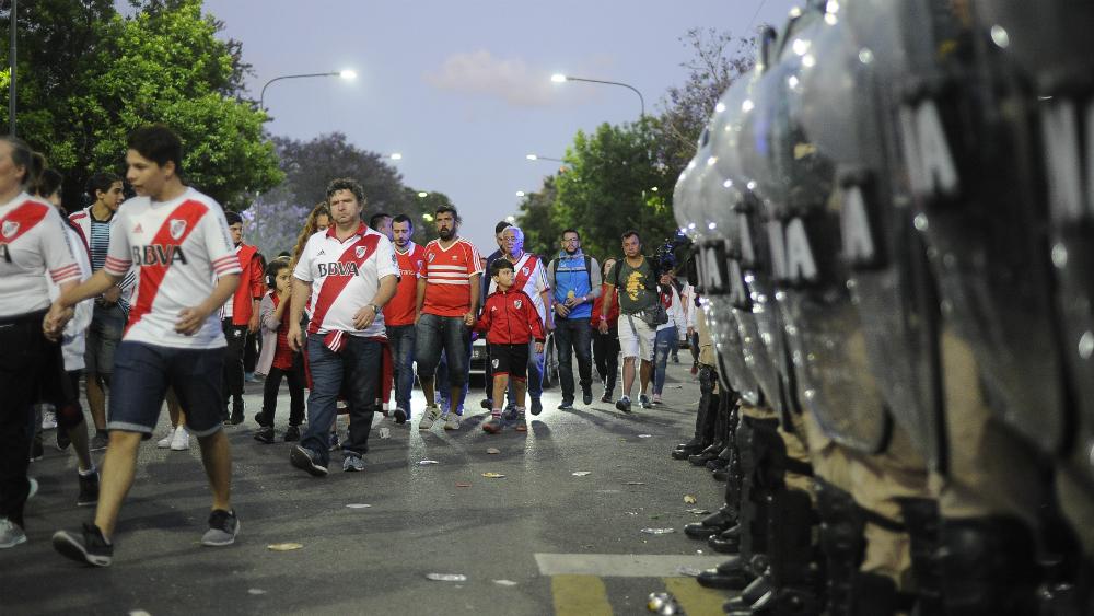 Madrid desplegará 4 mil agentes para final de la Libertadores - Foto de AFP