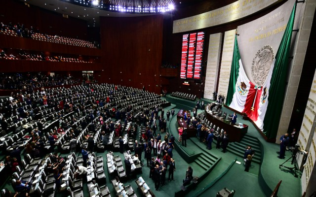 Tras cambio de poderes, San Lázaro vuelve a la normalidad - inician audiencias en san lazaro sobre guardia nacional