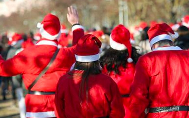 ¡El mundo necesita más Santas! - Santa Claus. Foto dee 123RF.
