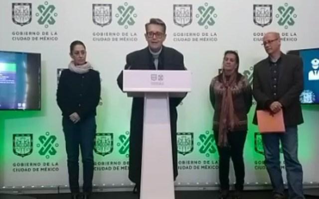 Fin de Año en la Ciudad de México se celebrará sin pirotecnia - Secretario de Cultura, Alfonso Suárez. Captura de pantalla