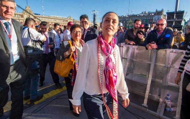 Despliegan operativo por toma de protesta de Sheinbaum - Foto de Notimex