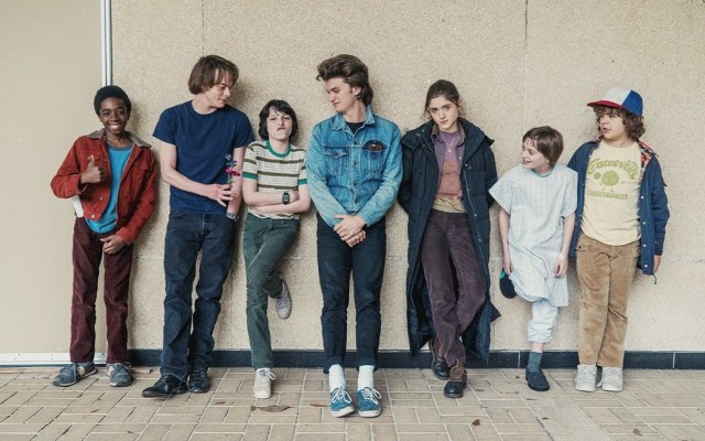 #Video El primer adelanto de Stranger Things 3 - Parte del elenco de Stranger Things. Foto de @Stranger_Things