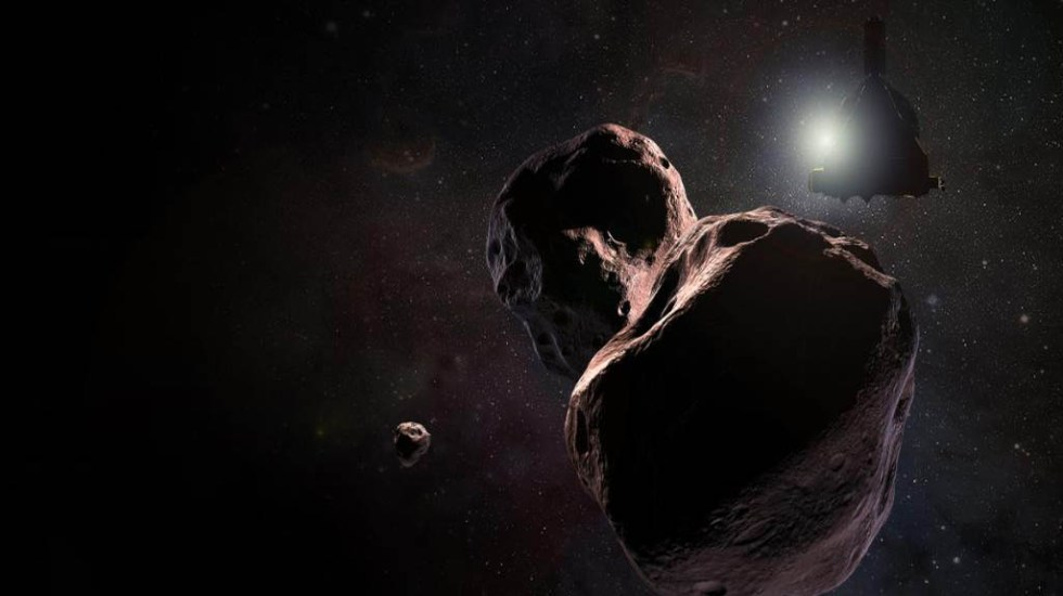 Sonda de la NASA sobrevolará el cuerpo celeste más lejano - Ultima Thule. Foto de NASA