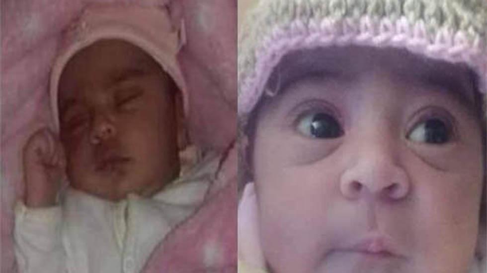 Valeria sigue desaparecida; tiene apenas 15 días de nacida. Foto de @SoldeIrapuato