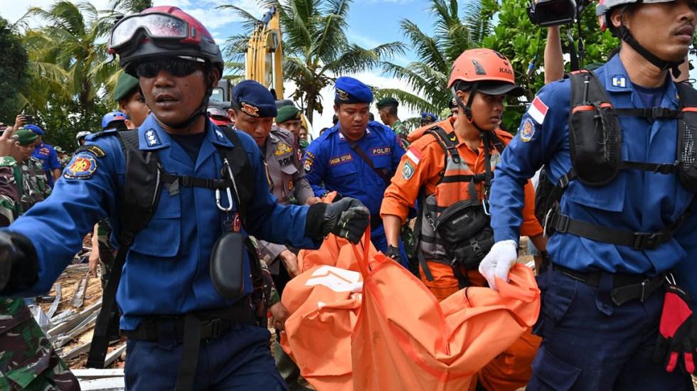 Resultado de imagen para Tsunami en Indonesia: Se eleva a 373 la cifra de muertos