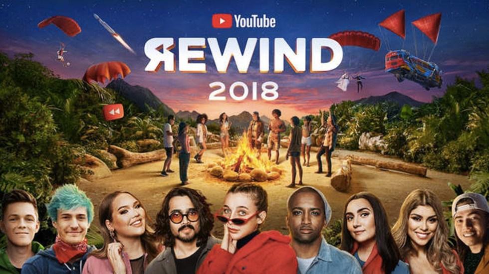 #Video Lo más visto en YouTube en 2018
