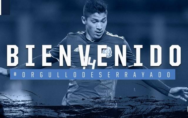 Rayados confirma a Ángel Zaldívar como nuevo refuerzo - Foto de Rayados