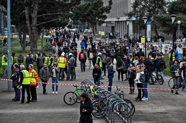 Al menos tres heridos por explosión dentro de la Universidad de Lyon