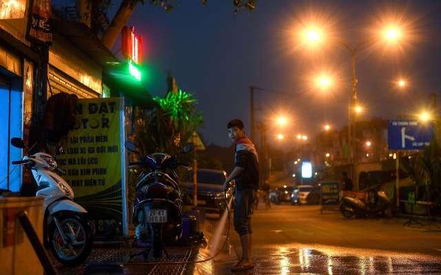 Atardecer en Hanoi. - Atardecer en Hanoi, Vietnam. Foto de AFP.