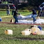 Sube a 96 la cifra de muertos por la explosión de ducto en Tlahuelilpan - Explosión en Tlahuelilpan, Hidalgo. Foto de Notimex.