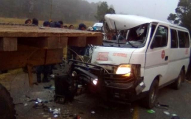 Accidente carretero en Chiapas deja tres muertos y cuatro heridos - Foto de Excélsior