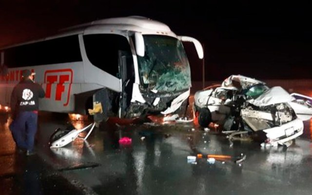 Muere familia tras choque en carretera Monterrey-Monclova - Foto de Multimedios