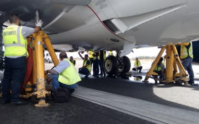 Aeronáutica Civil investigará incidente del vuelo 120 de Aeroméxico - Foto de @aeropuertosGAP