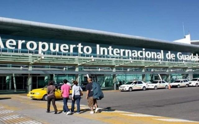 Sentencian a hombre por introducir cocaína a México - Aeropuerto Internacional de Guadalajara. Foto de Internet
