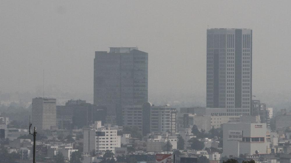 Contaminación en la CDMX. Foto de Notimex
