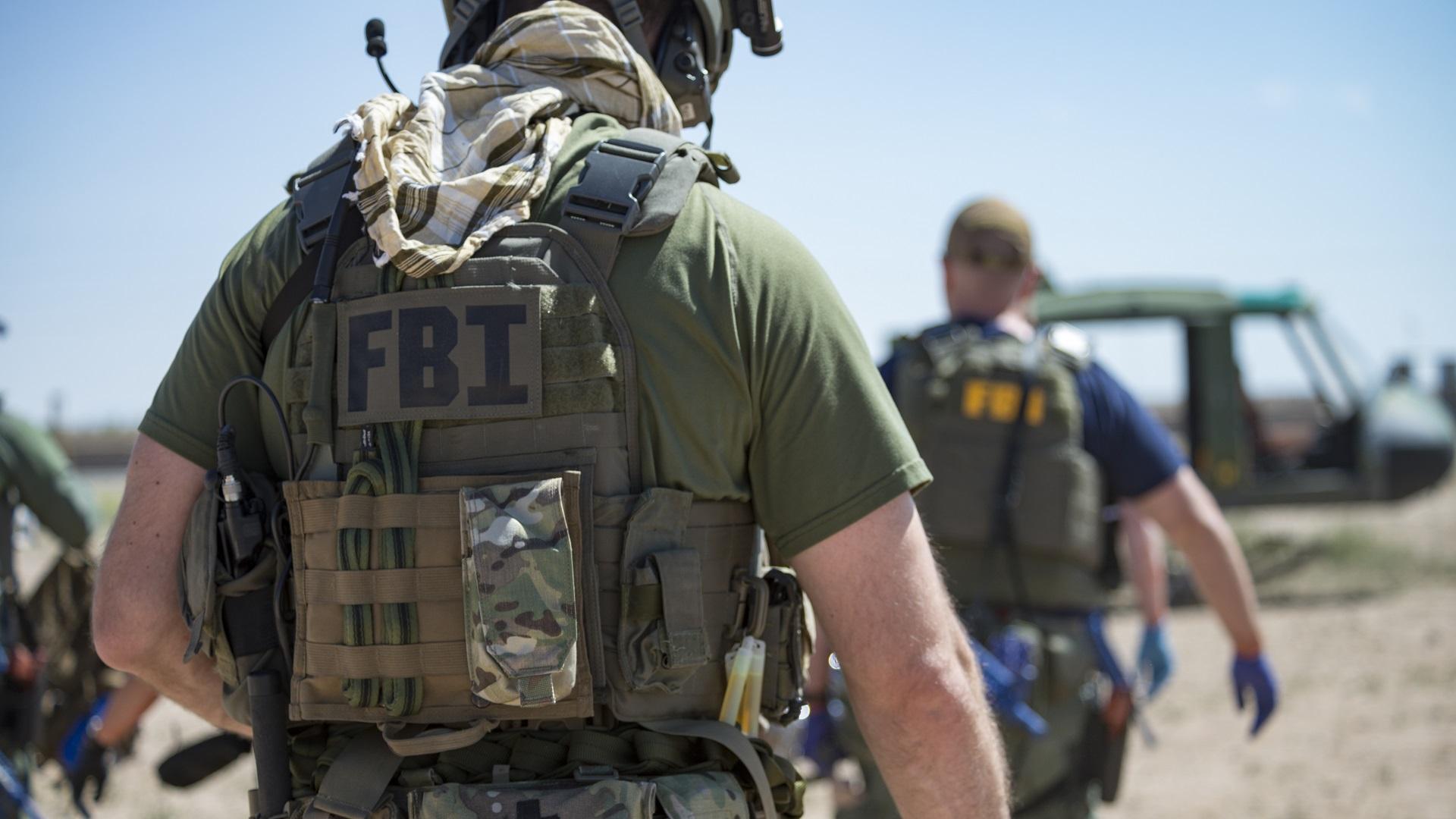 Agente de la División Operacional de Medicina. Foto de FBI