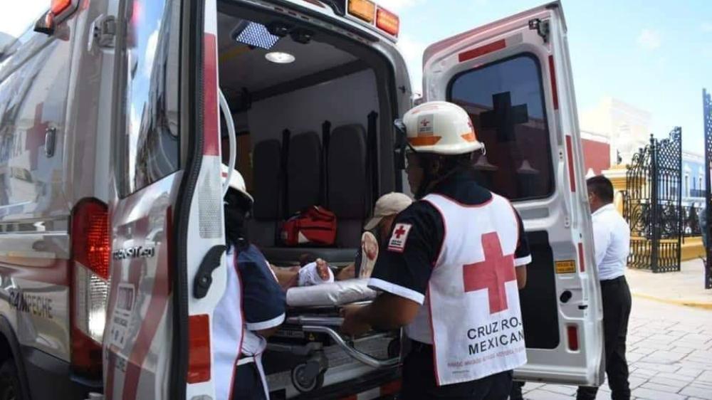 Cruz Roja China dona 100 mil dólares tras explosión en Tlahuelilpan - Ambulancia archivo. Foto de Cruz Roja