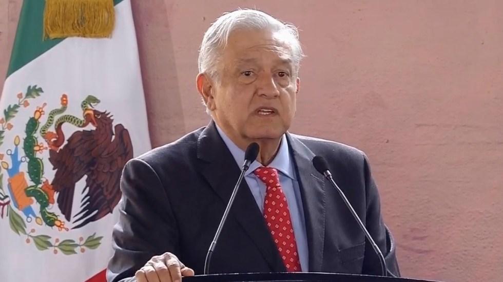 Nadie va a estar obligado a delinquir: AMLO - AMLO en Tlalnepantla. Captura de pantalla