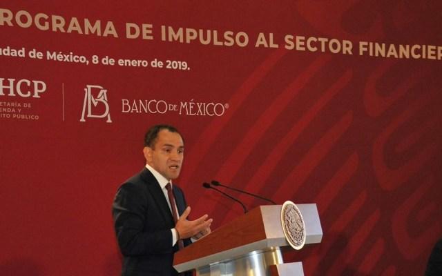 Recompra de bonos del NAIM se liquidó en diciembre - Arturo Herrera, subsecretario de Hacienda. Foto de @SHCP_mx