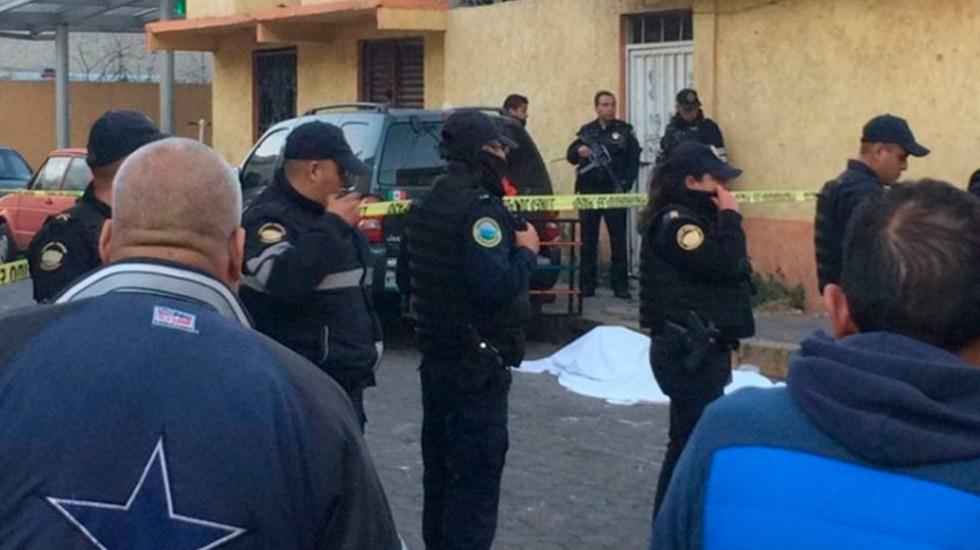 Asesinan a hombre en Iztacalco - Foto de Excélsior