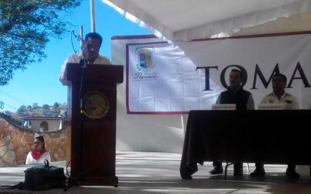 Matan a alcalde de Tlaxiaco, Oaxaca tras toma de protesta - Foto de @AmpmOaxaca