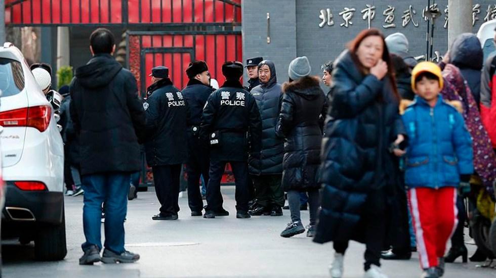 Hombre hiere a 20 niños en escuela de China - Foto de @anadoluajansi