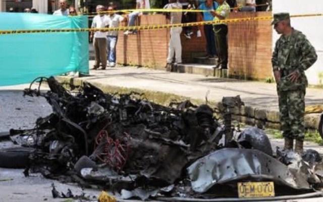 Suman 10 muertos por atentado en Bogotá, Colombia - Foto de Internet