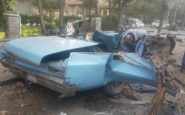 Saldo blanco por atentado con bomba en Siria - Atentando con bomba en Siria