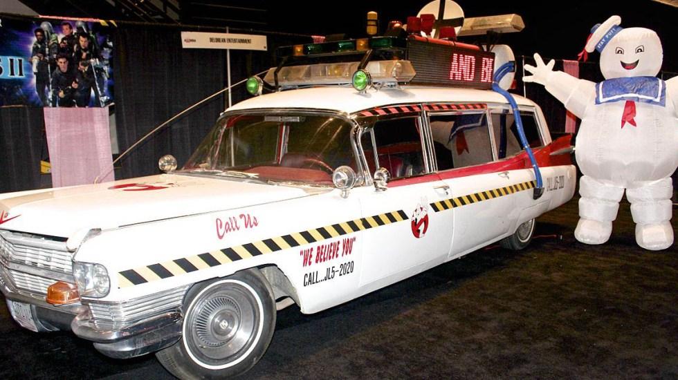 Habrá secuela de Los cazafantasmas original - Auto de Los cazafantasmas. Foto de Internet