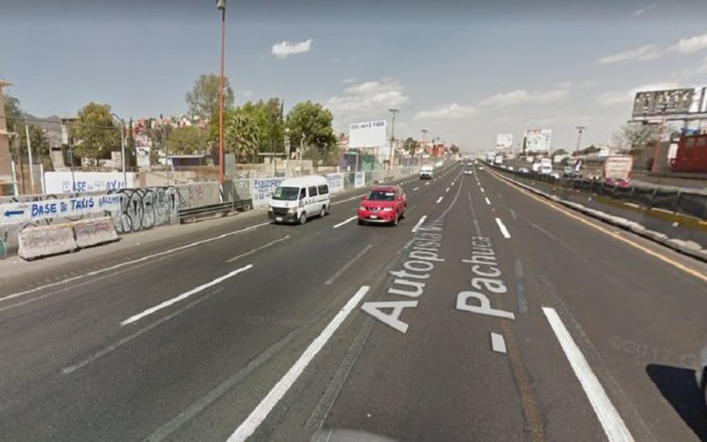 Ladrones disparan a estudiante por llevar solo 30 pesos - Autopista México-Pachuca. Foto de Google Maps