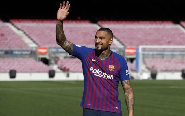 Barcelona presenta a Kevin-Prince Boateng - boateng señaló que sabía que no sería titular en el barcelona