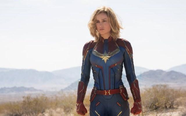 Captain Marvel logra la segunda mejor preventa de Marvel - Brie Larson como Capitana Marvel. Foto de @CaptainMarvelOfficial