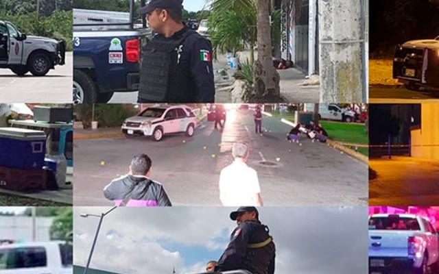 2018: El año más violento de Cancún con 546 asesinatos - Con información de Quadratín
