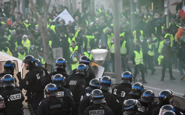 """""""Chalecos amarillos"""" preparan undécima protesta, en medio de desacuerdos - Foto de AFP"""