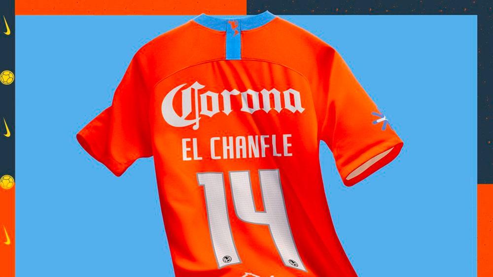 América lanza jersey en homenaje al 'Chanfle'