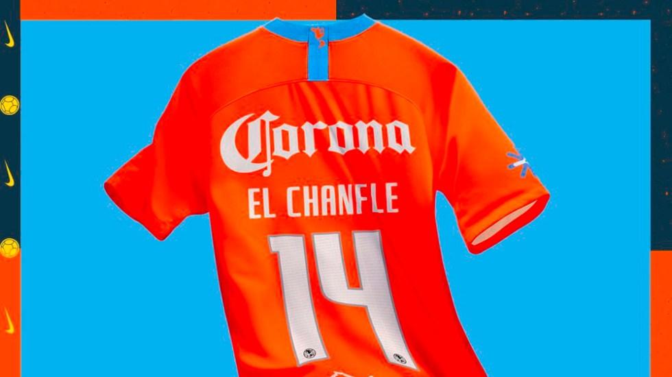 América presenta tercer uniforme en homenaje a'El Chanfle' - Foto de @ClubAmerica